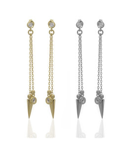 Anuja Arrow Chain Earrings