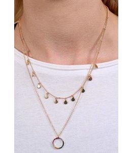 Caroline Hill Charming Rainbow Necklace
