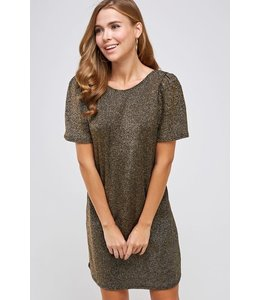 PODOS Holiday Scoop Dress