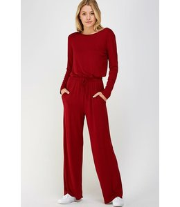 PODOS Long Sleeve Jumpsuit
