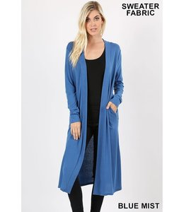 PODOS Duster Cardigan w/ Side Pockets