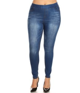PODOS Pull On Jeans Skinny Plus