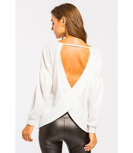 PODOS Brushed Thermal Open Back Top