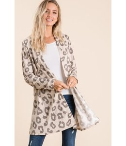PODOS French Terry Cardigan