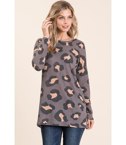 PODOS Loose Fit Waffle Top