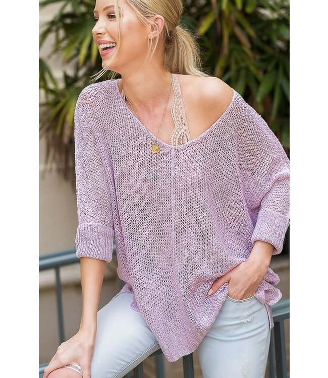 Soft Luxe Sweater Top