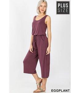 PODOS Plus Sleeveless Jumpsuit w/h Pocket