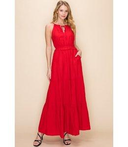 PODOS Tiered Maxi Dress