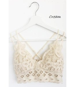 PODOS Crochet Lace Bralette