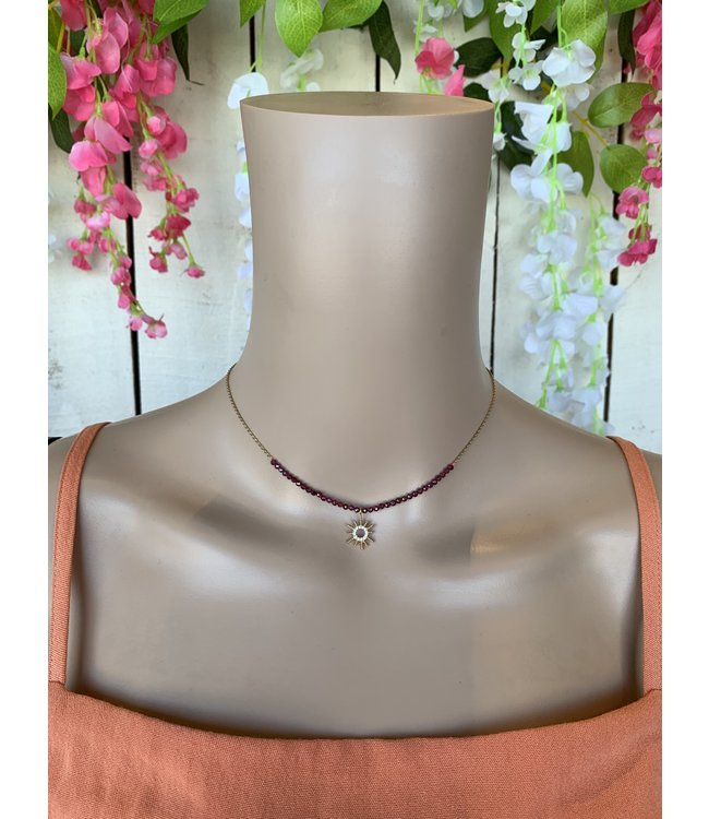Caroline Hill n16997 Sunburst Necklace