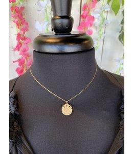 Golden Stella NN76808 Coin Necklace