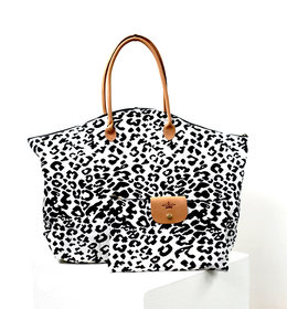 Royal Standard Leopard Weekender Bag