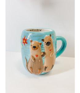 Natural Life Otter Mug