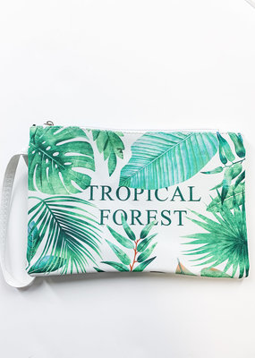 PODOS Tropical Forest Cosmetic Bag