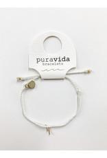 PuraVida PV Gold Lightning Btty Braid Bracelet