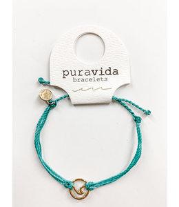PuraVida PV Gold Wave Bracelet
