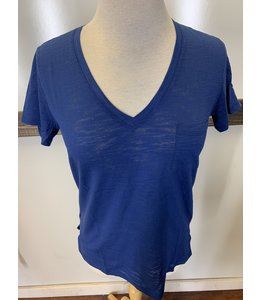 PODOS V-Neck Pocket Top