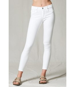PODOS High Waist Denim Skinny Jeans