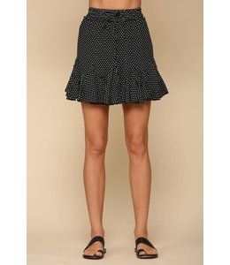 PODOS Polka Dot Skirt