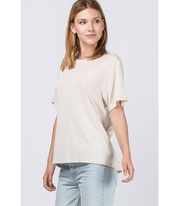 PODOS Short Sleeve Knit Top