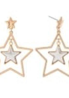 Nested Star Earrings