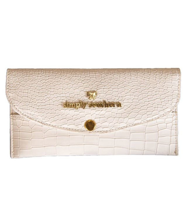 Simply Southern SS Leather Cardholder