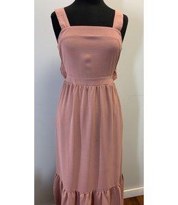 PODOS Ruffle Hem Maxi Dress