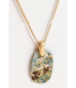 PODOS Abalone/MOP Necklace
