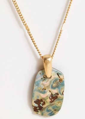PODOS Abalone/MOP Necklace