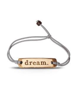 Mud Love Adjustable Band Bracelet