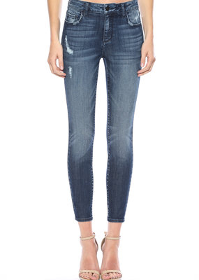 Cello Jeans Mid Rise Crop Skinny