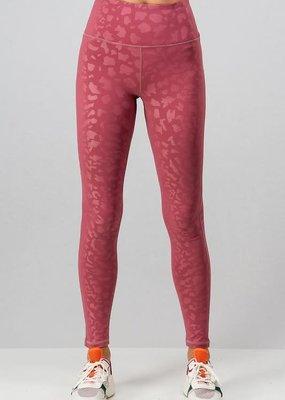 PODOS Tonal Leopard Print Leggings