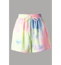 PODOS Tie Dye Shorts w/ Pockets