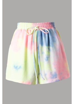 PODOS Tie Dye Shorts w/ Pockets