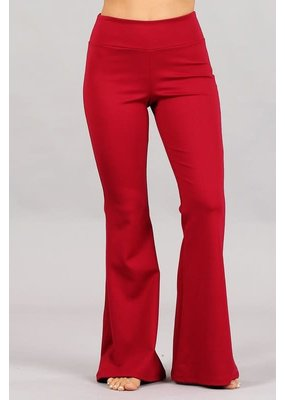 PODOS Flared, Wide Band Pull-on Pants