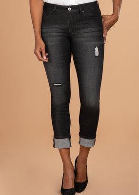 YMI WBB Mega Cuff Ankle Jeans