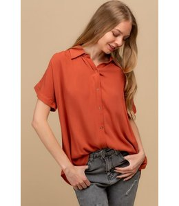 PODOS Snap Button Front Shirt