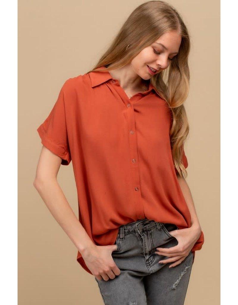PODOS Snap Button Front Shirt