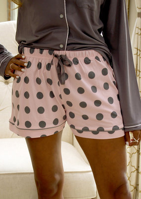 Royal Standard Dottie Sleep Shorts