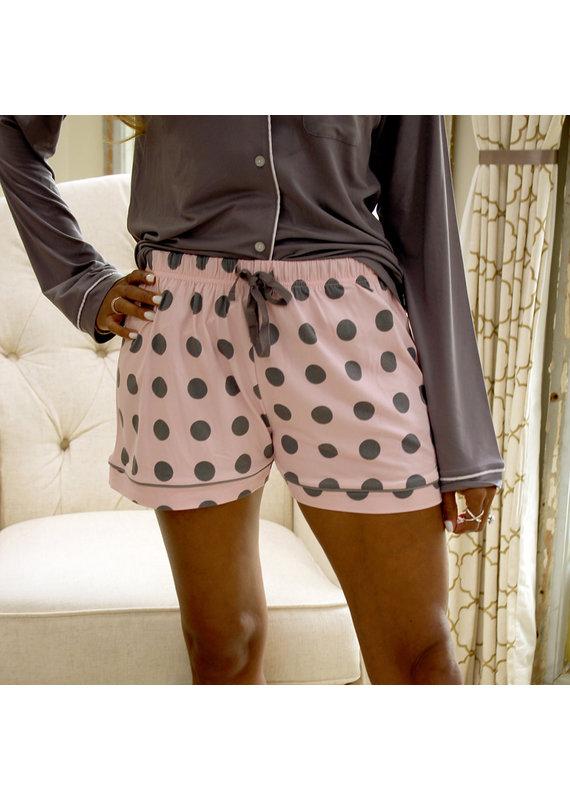 Royal Standard Dottie Sleep Shorts