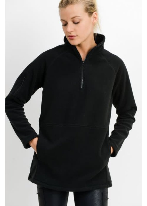 PODOS High Neck Fleece Active Jacket
