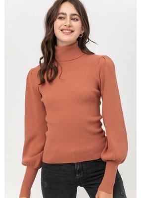 PODOS Puffed Sleeve Sweater