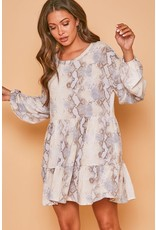 PODOS Long Sleeve Abiba Dress