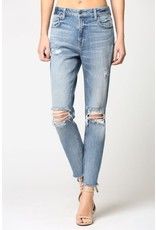 Hidden Hidden Brand Distressed Mom Jeans