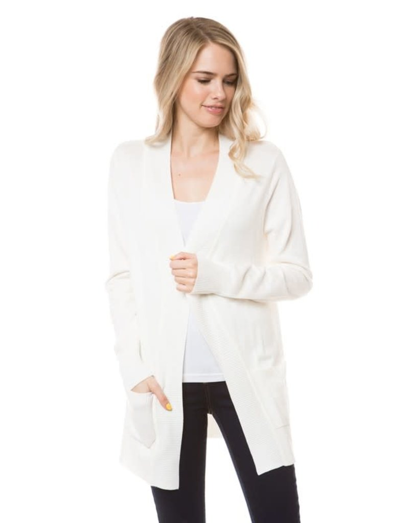 PODOS Open Front Cardigan