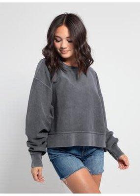PODOS Corded Boxy Pullover