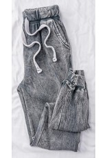 PODOS French Terry Cropped Joggers