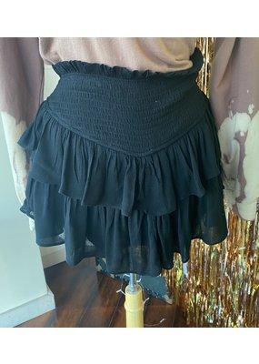 PODOS Ruffle Mini Skirt