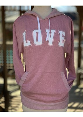 Barn Loft Co LOVE French Terry Pullover v21