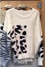 PODOS Multi Print Sweater